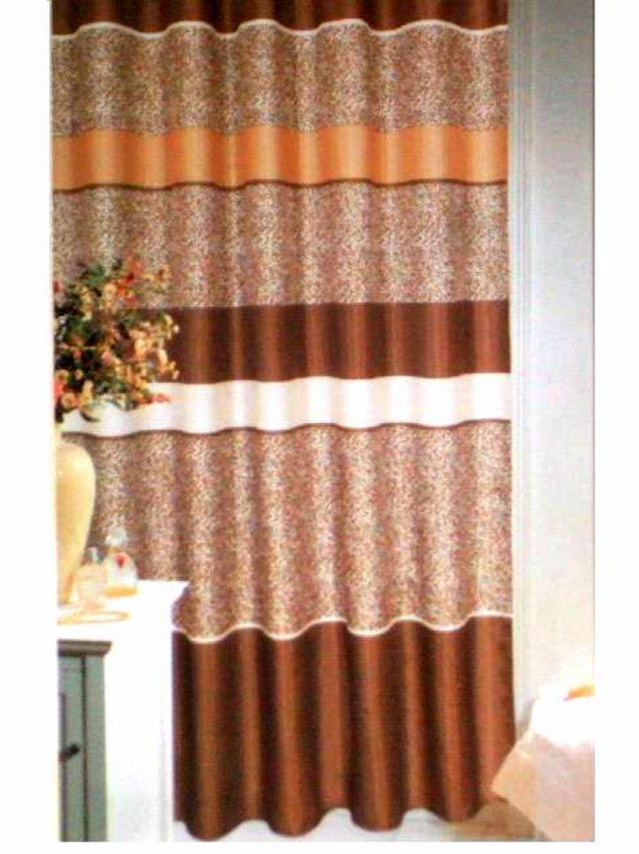 Popular Bath Cheetah Print Fabric Shower Curtain