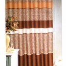 Popular Bath Cheetah Print Fabric Shower Curtain