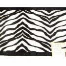 Popular Bath Zebra Stripe Bath Mat