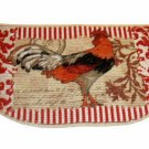 Country Rooster Kitchen Rug