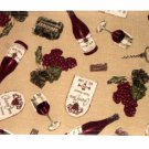 Wine Themed Kitchen Placemats
