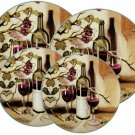 Wine Themed Range Stove Burner Covers