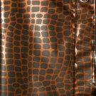 Safari Animal Print Peva Shower Curtain