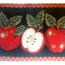 Apple Themed Placemats Red Apples