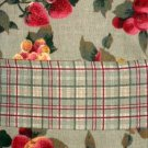 Fruit Apples Cherries Grapes Strawberries Fabric Tablecloth
