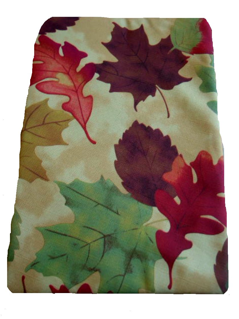 Autumn Leaves Fall Tablecloth Round