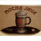 Mocha Java Coffee Themed Kitchen Rug
