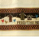 Birds Birdhouses Fingertip Tea Towels Set
