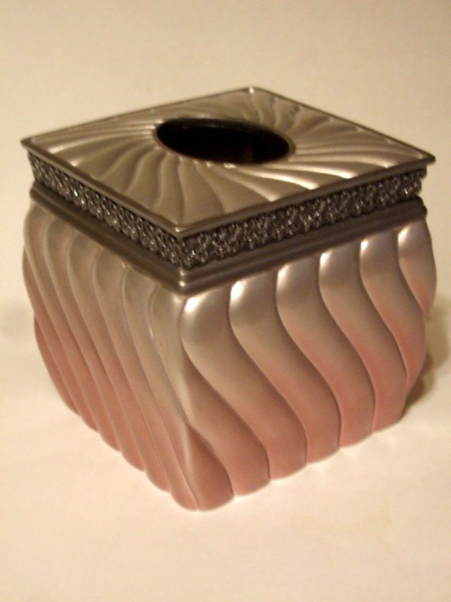 Lilac Pink Ombre Tissue Box Cover
