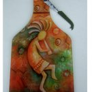 Kokopelli Cheese Board with Knife