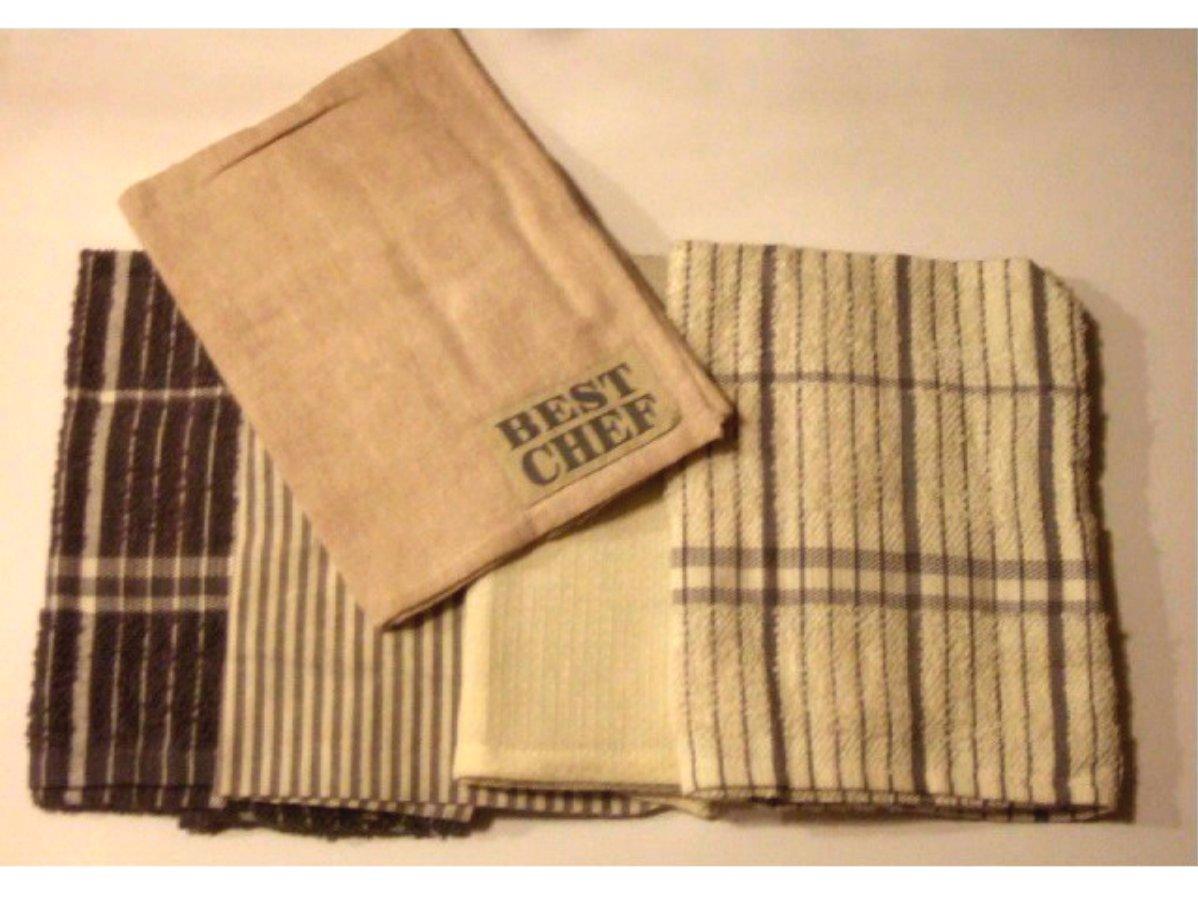 Best Chef Kitchen Towels Set