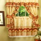 Sunflowers Kitchen Curtains Complete Window Set