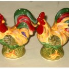 Country Roosters Salt and Pepper Shakers