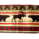 Bears Moose Cabin Lodge Rug