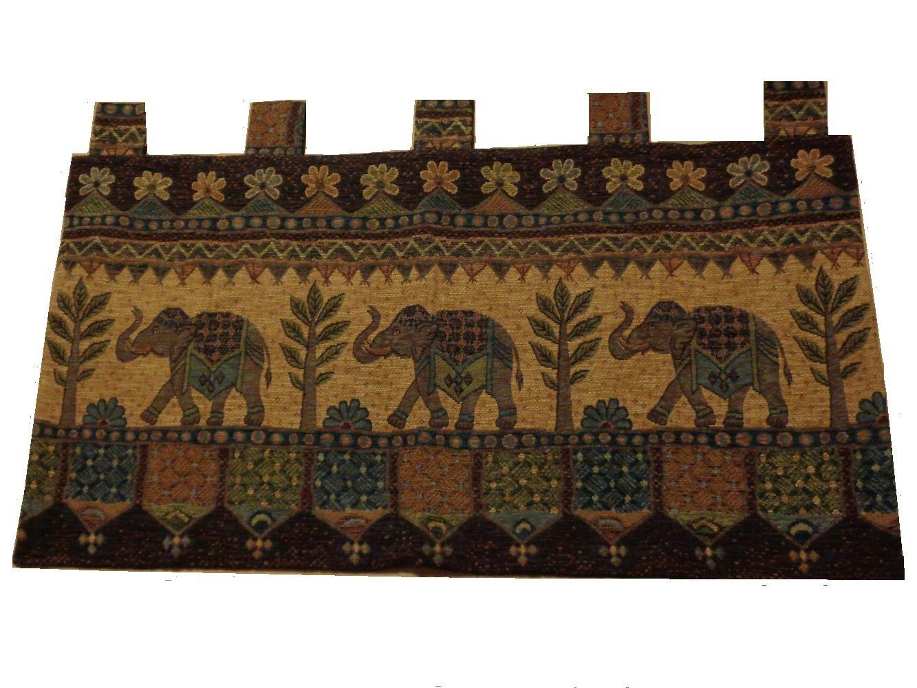 African Safari Elephants Wall Tapestry