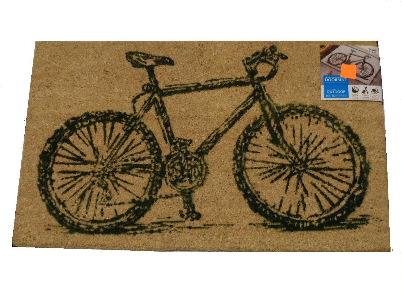 Bicycle Rug Outside Doormat