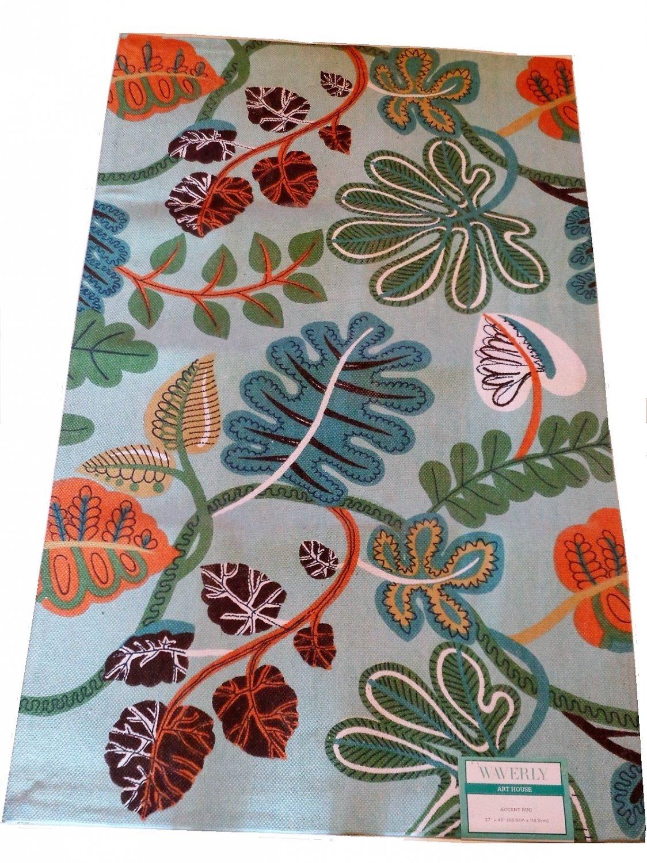 Waverly Art House Floral Area Rug