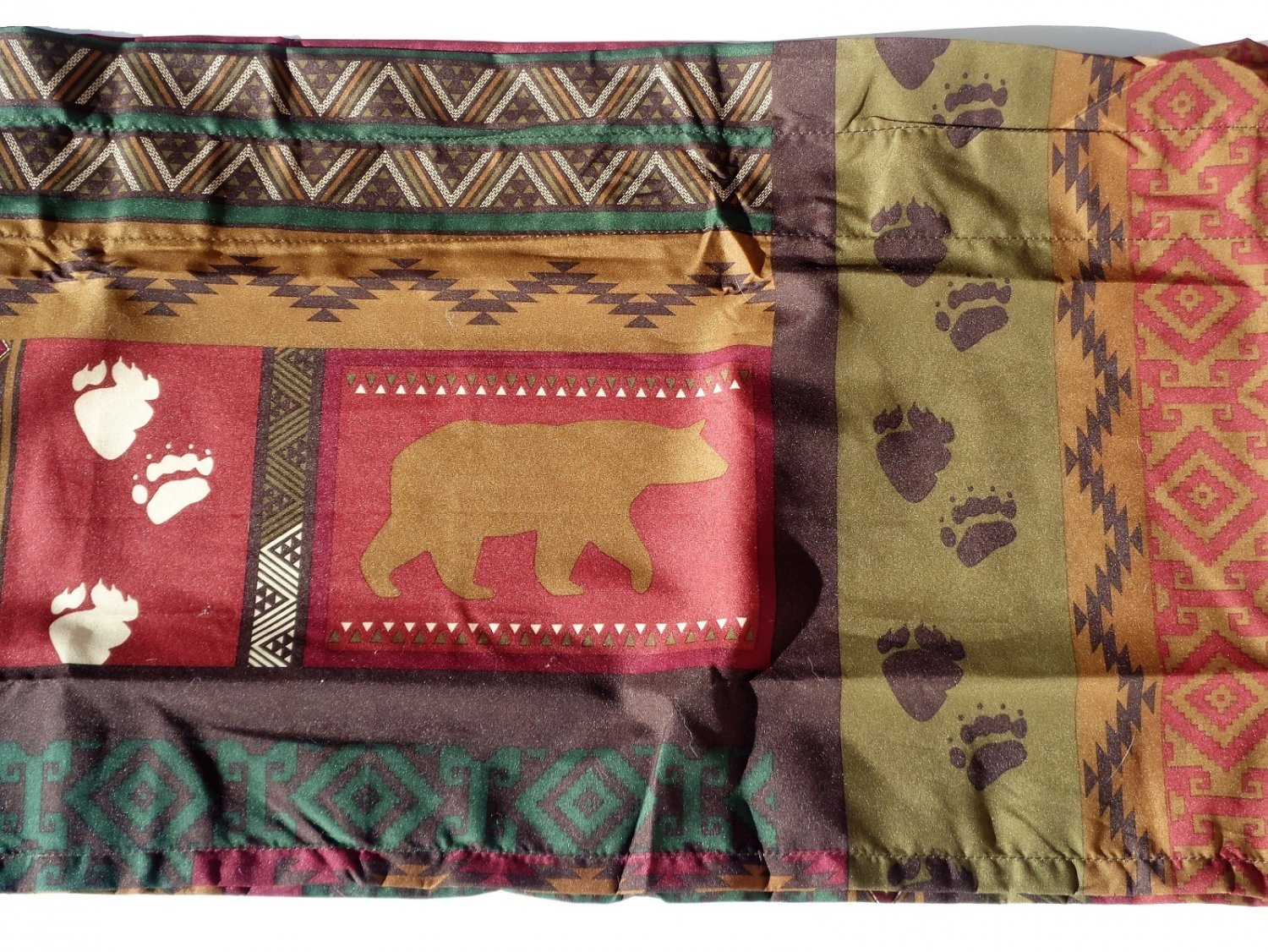 Tahoe Moose Bear Cabin Curtains Set Valance Tiers