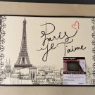 Paris Eiffel Tower Comfort Mat Chef Style Rug French Decor
