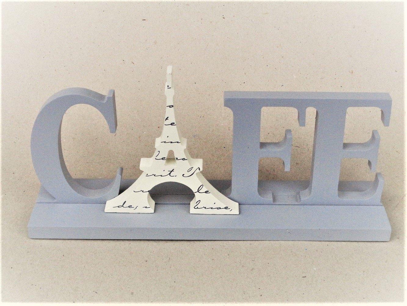 French Café Sign Eiffel Tower