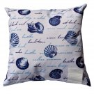 Seashells Pillow Beach Décor
