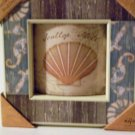 Nautical Seashell Wall Art Arched