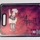 Fat Chef Cutting Board Bon Appetit