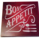 Bon Appetit Kitchen Sign Wood