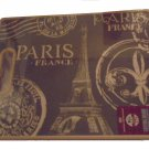 Paris Theme Cutting Board Eiffel Tower Postcard