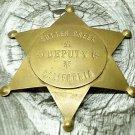 Fox Stamp Fantasy Badge Sutter Creek California Deputy at ITSMYGARAGESALES