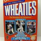 Wheaties All Star Infielders 1997 Unopened Cereal Box