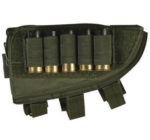 Butt Stock Right Handed Cheek Rest - Shotgun Shell Holder