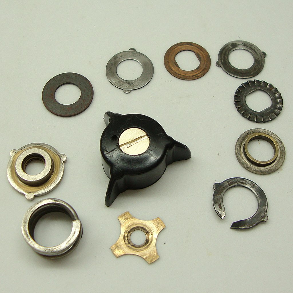 Mitchell 303 Salt Water Fishing Reel Parts, Drag Knob and Drag Washers