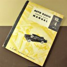 1953-1954 Auto Radio Service Data Manual Vol. 4, AR-4