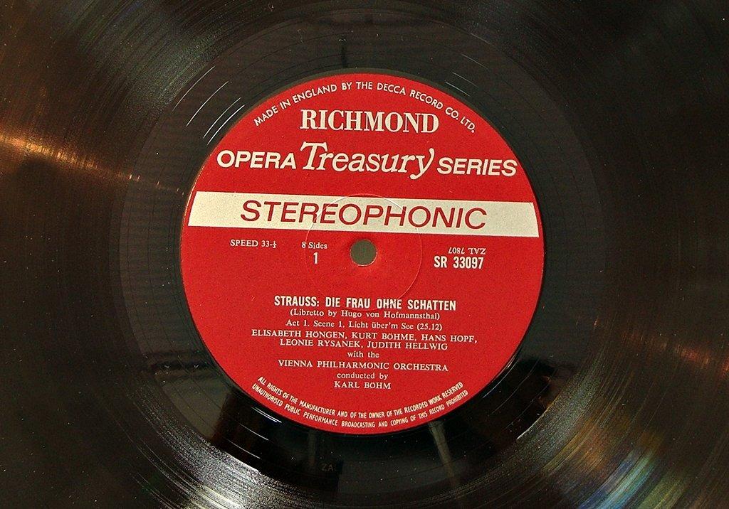 Richmond Opera Treasury Series Strauss Die Frau Ohne Schatten