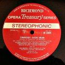 Richmond Opera Treasury Series Eugene Onegin Tchaikovsky
