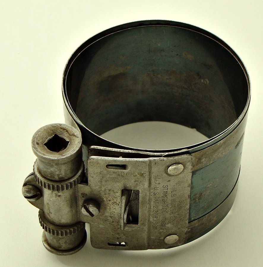 Piston Ring Compressor 1940s - 1950s L. B. MILLER ,208,136