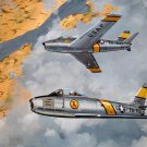 Air Force Fighter Jet F-86A The Chris Craft, Print