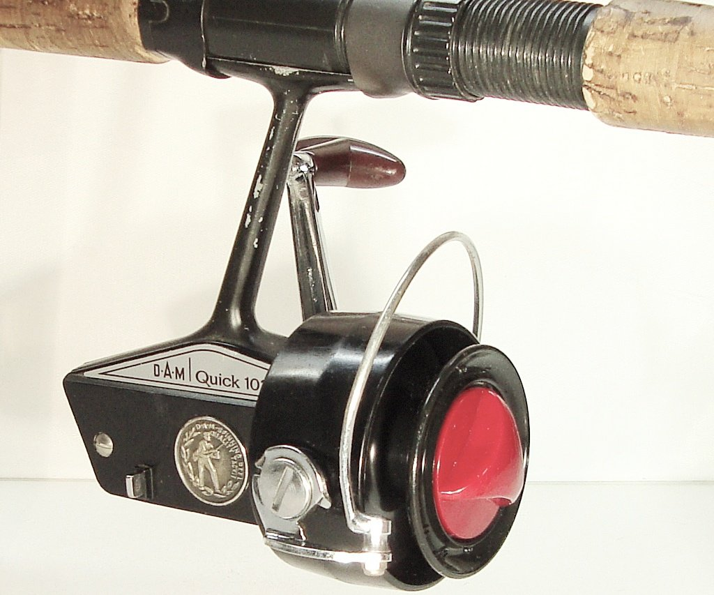 DAM QUICK 103 Spinning Reel, West Germany