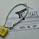 "Child Safety Cable Gun Lock 12"" (Cable & Lock Vinyl Wrapped)"