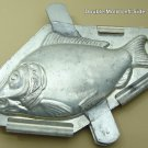 Considerably Rare 9-inch Sunfish Chocolate Mold 24