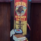 Tin Sign with Raised Lettering Hi-Power Shells
