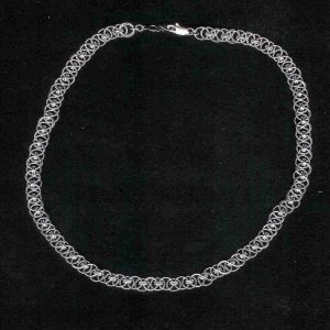 Helm Chain Maille Necklace