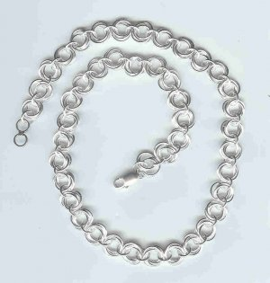 Mobius Chain Maille Necklace