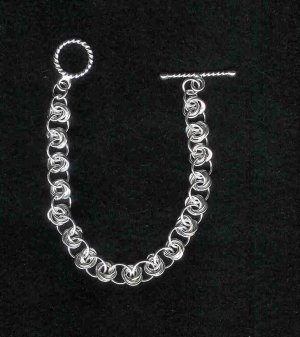 Mobius Chain Maille Bracelet