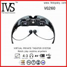 52inch virtual screen display video glasses with AV in for iphone 4, ps3, wii etc