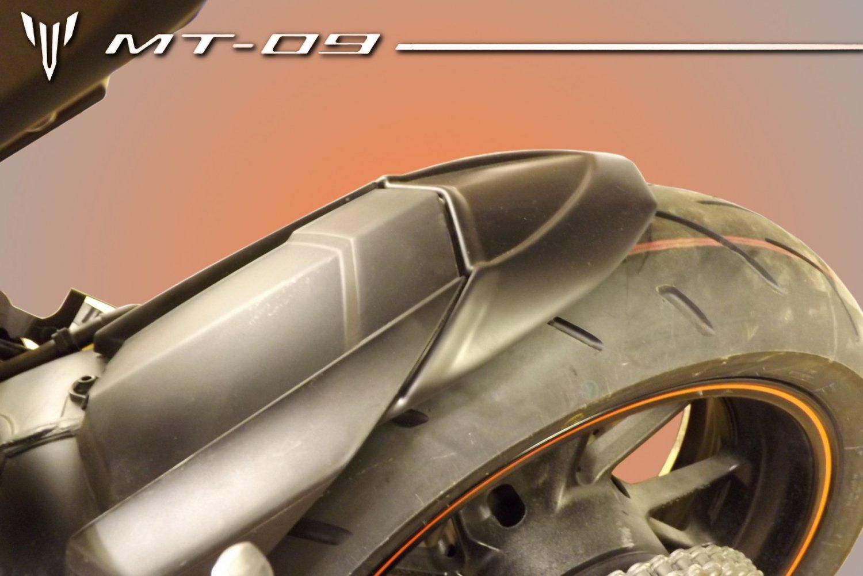 Yamaha MT09 / FZ09 (13-20) Rear Hugger Extension: Black 072436