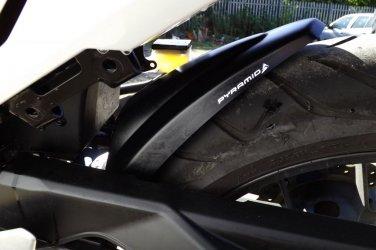 Honda CBR500 R/F/X Hugger: Black 071910B