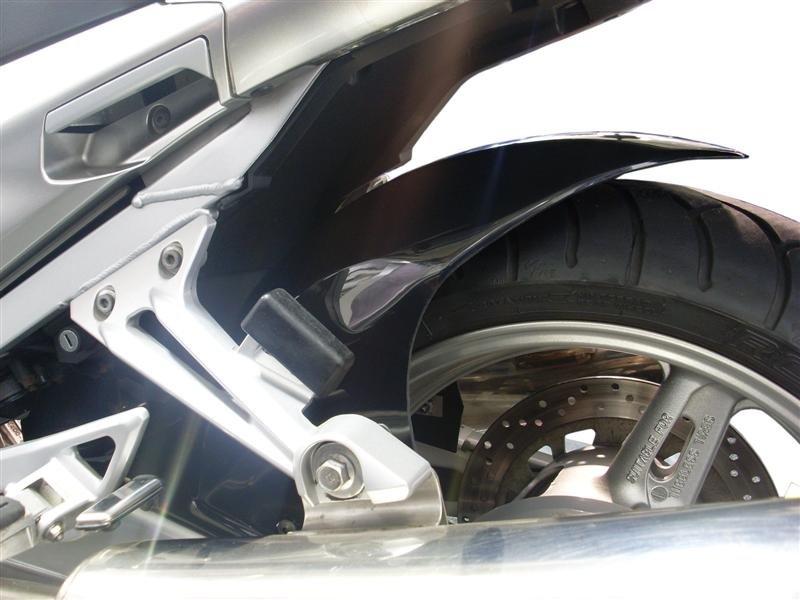 Yamaha FJR1300 Hugger: Gloss Black Plastic 072431B