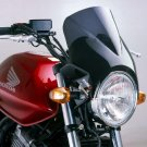 Windy - Universal Motorcycle Screen for Naked Bikes: Smoke 04806B